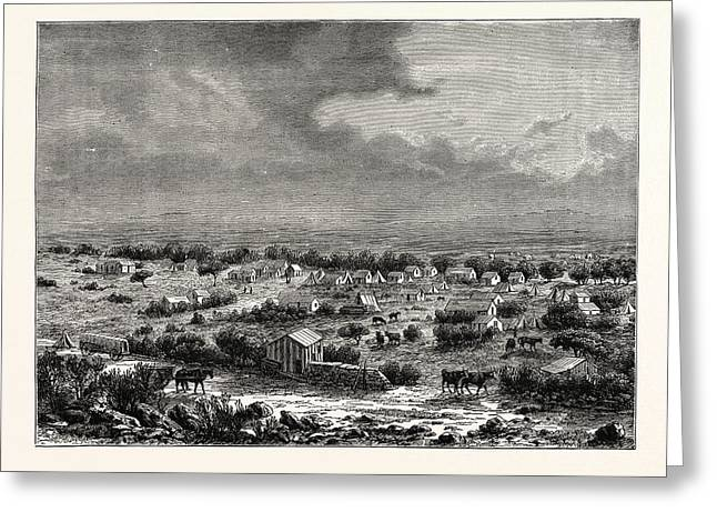 View Of Barkly, Or Klipdrift Greeting Card