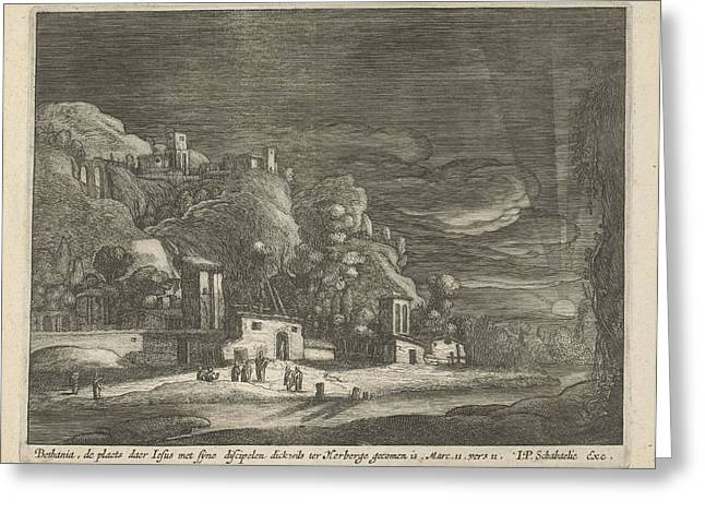 View Of Bethany, Nicolaes Lastman, Anonymous Greeting Card