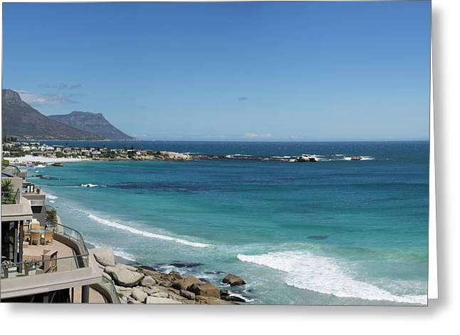 View Of Clifton Beach, Cape Town Greeting Card by Panoramic Images