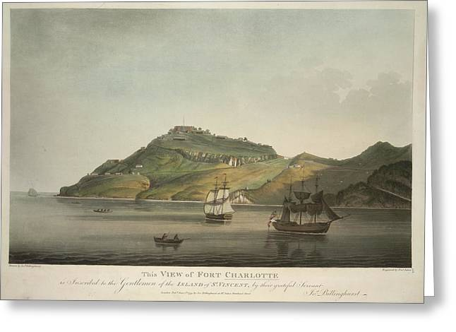 View Of Fort Charlotte Greeting Card