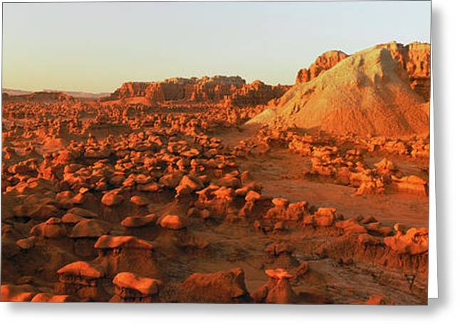 View Of Goblin Valley State Park, Utah Greeting Card by Panoramic Images