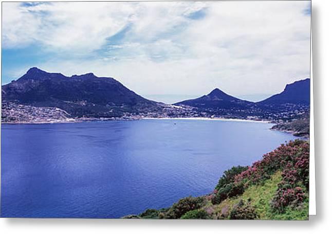 View Of Hout Bay, Cape Peninsula Greeting Card by Panoramic Images