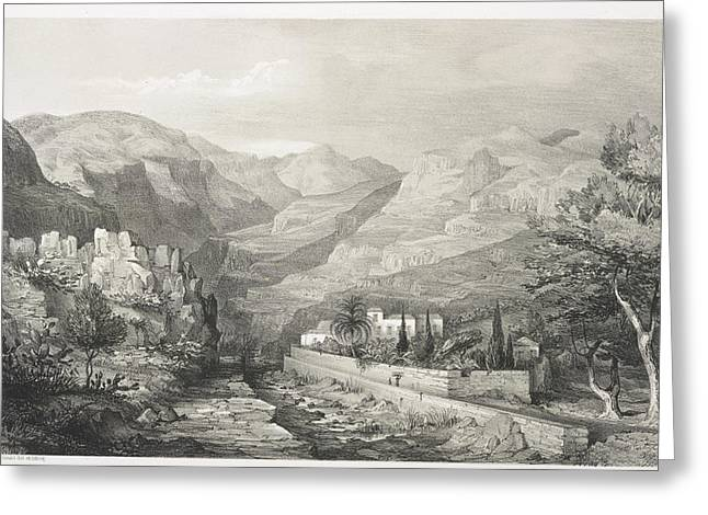 View Of Madeira Greeting Card by British Library