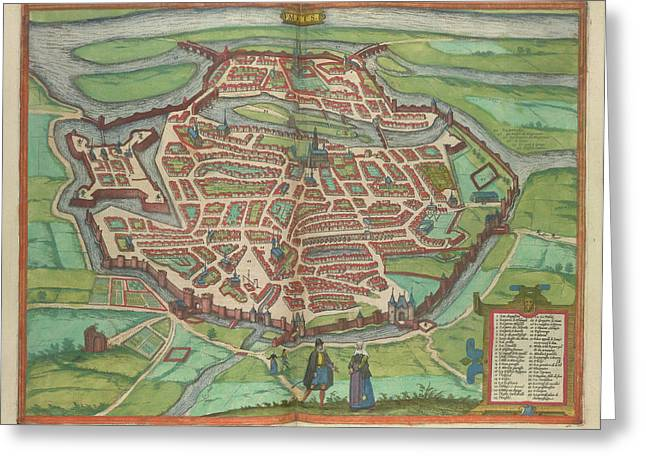 View Of Metz Greeting Card by British Library