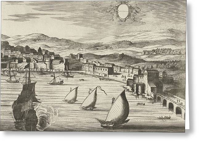 View Of Naples, Italy Greeting Card