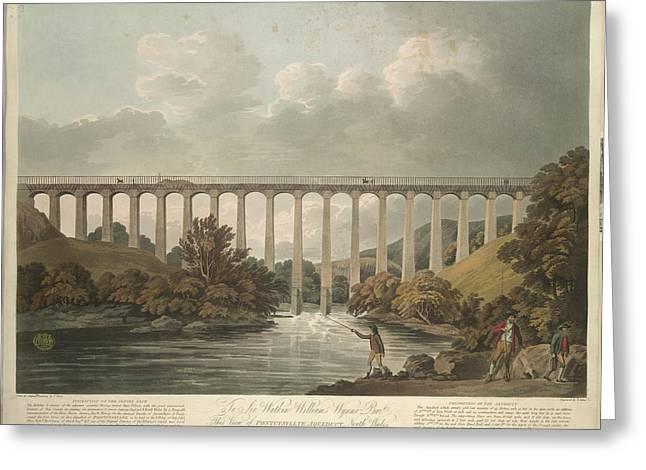 View Of Pontcysyllte Aqueduct Greeting Card