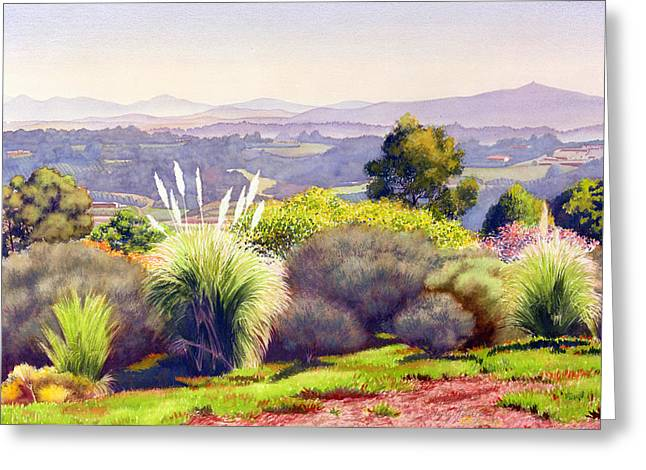 View Of Rancho Santa Fe Greeting Card