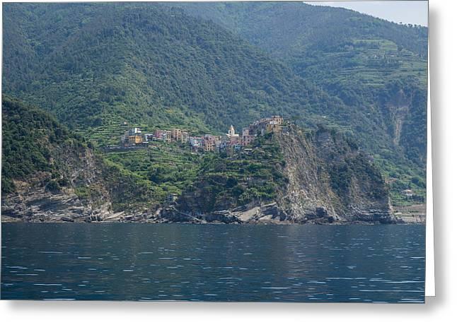 View Of The Corniglia, La Spezia Greeting Card