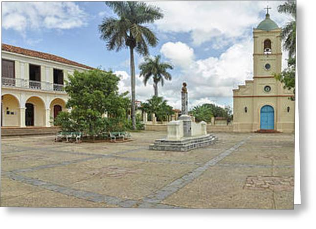View Of Town Center, Vinales, Pinar Del Greeting Card