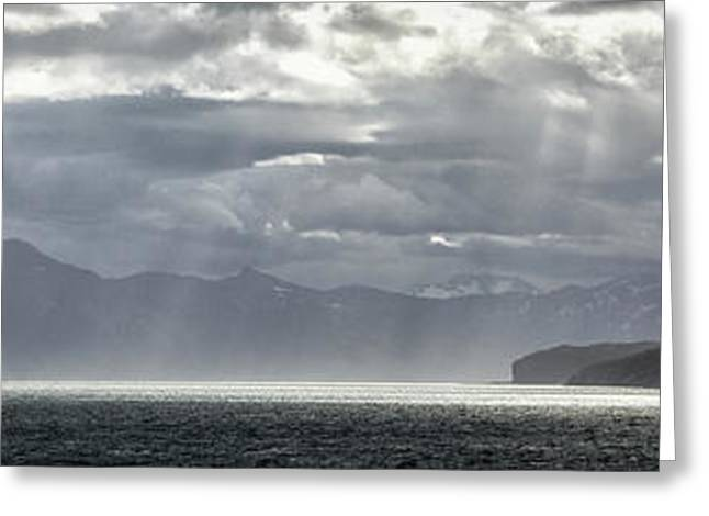 View Of Tucker Islets, Tierra Del Greeting Card by Panoramic Images