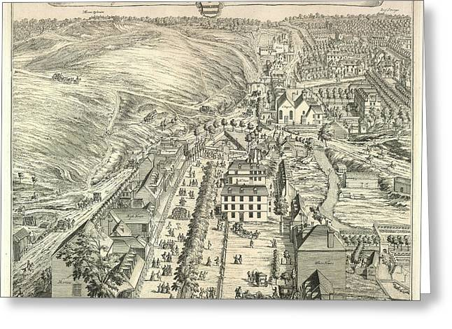 View Of Tunbridge Wells Greeting Card