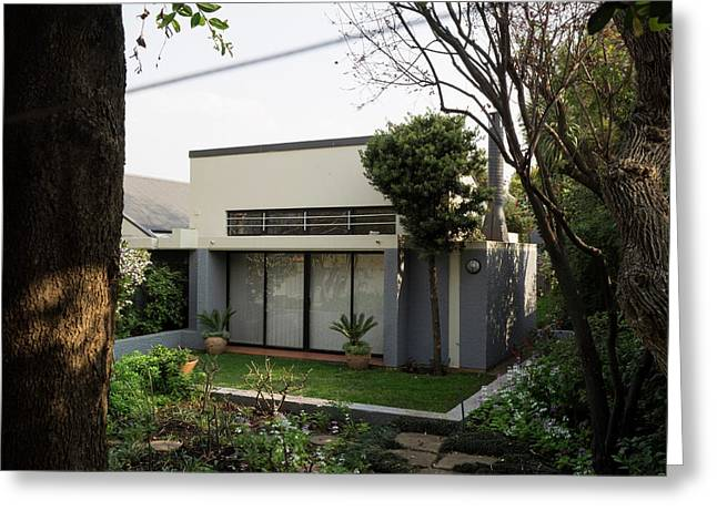 View Of Tutu House, Soweto Greeting Card