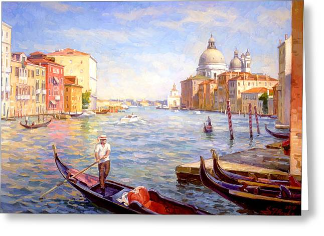 View On Della Salute Greeting Card
