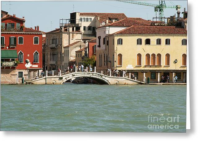 View On Venice Greeting Card by Evgeny Pisarev