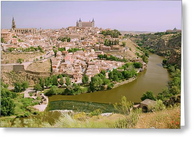 View Overlooking The Tagus River Greeting Card