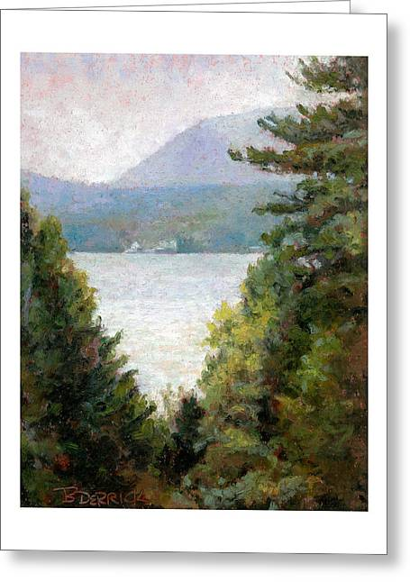 View To The Lake I Greeting Card