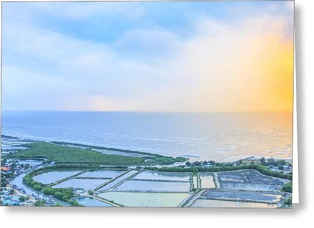 Viewpoint Of Kaw Dang Greeting Card