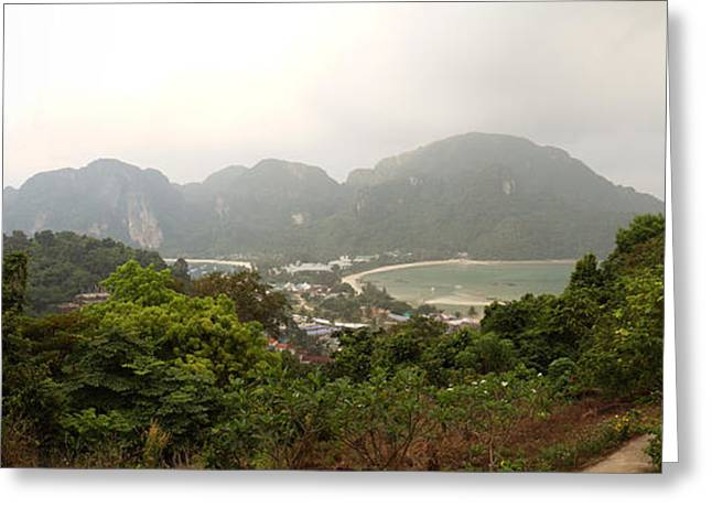 Viewpoint - Phi Phi Island - 01131 Greeting Card