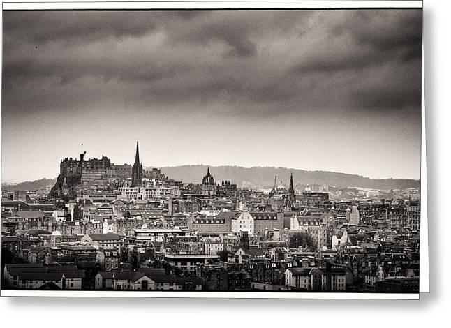 Views Across Edinburgh Greeting Card