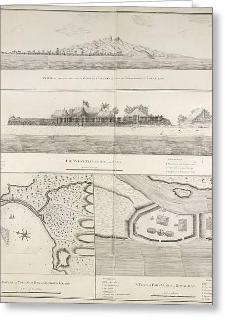 Views And Plans Of Royal Bay Greeting Card
