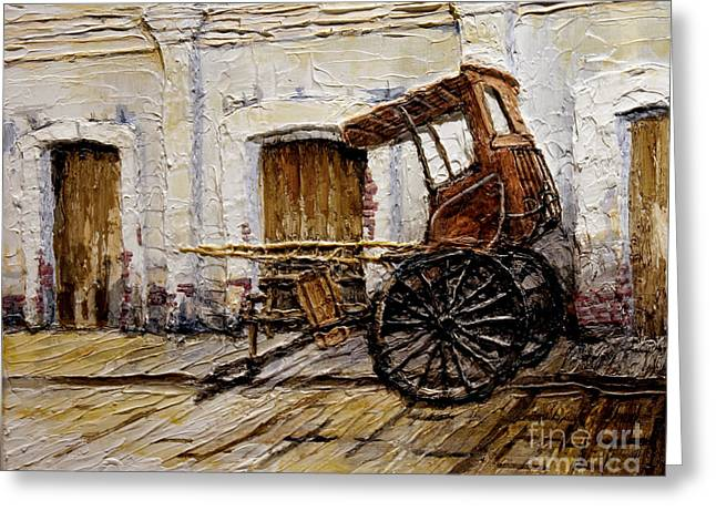 Vigan Carriage 1 Greeting Card