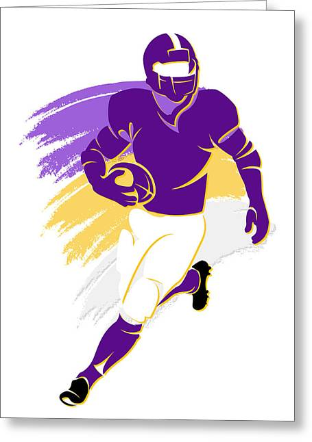 Vikings Shadow Player2 Greeting Card