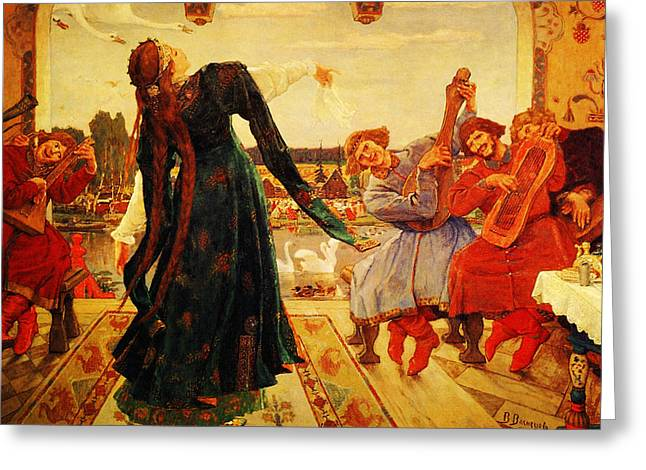 Viktor M Vasnetsov  Painting Greeting Card by MotionAge Designs
