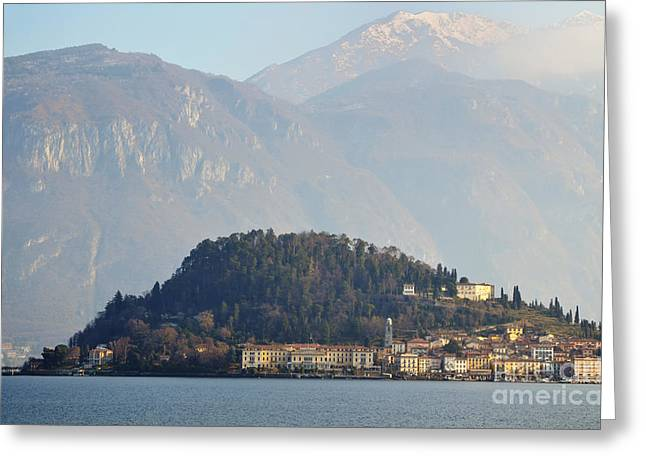 Village Bellagio Greeting Card by Mats Silvan