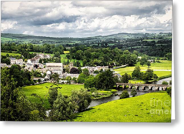 Village Of Inistioge Greeting Card