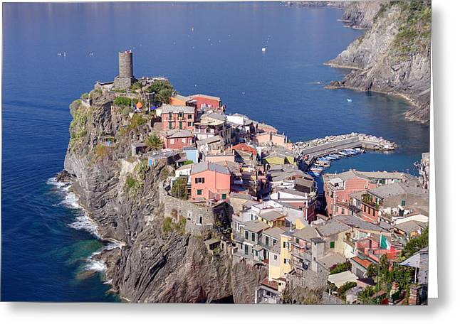 village of Vernazza Greeting Card by Ioan Panaite