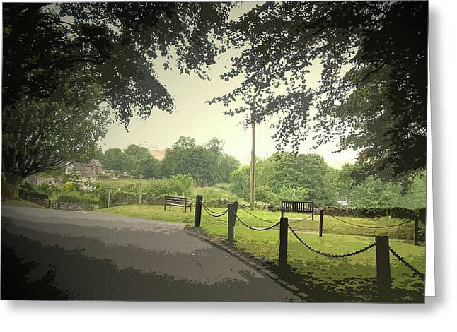 Village Scene In Thorpe, This Picture Was Taken Greeting Card by Litz Collection