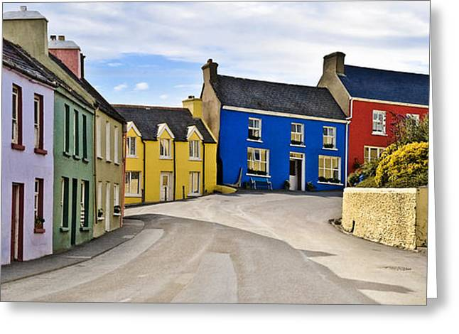 Greeting Card featuring the photograph Village Street by Jane McIlroy