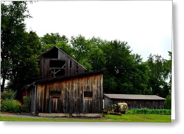 Greeting Card featuring the photograph Village Winery by Cathy Shiflett