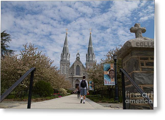 Villanova College Greeting Card