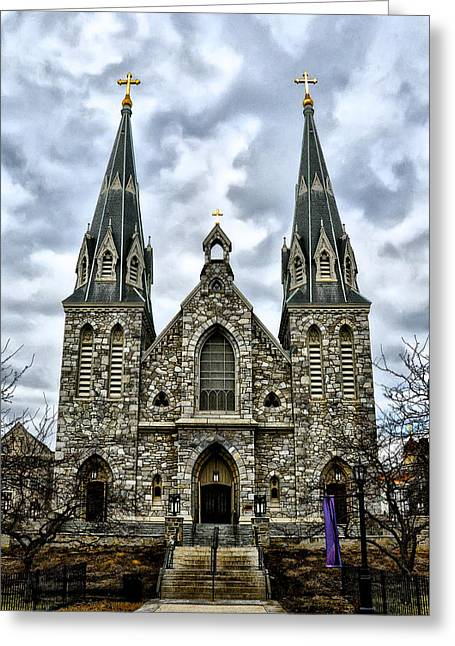 Villanova University Greeting Card by Bill Cannon
