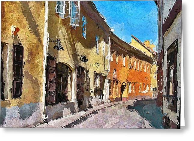 Vilnius Old Town 35 Greeting Card