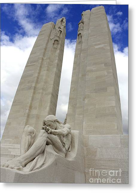 Vimy Ridge Memorial France Greeting Card