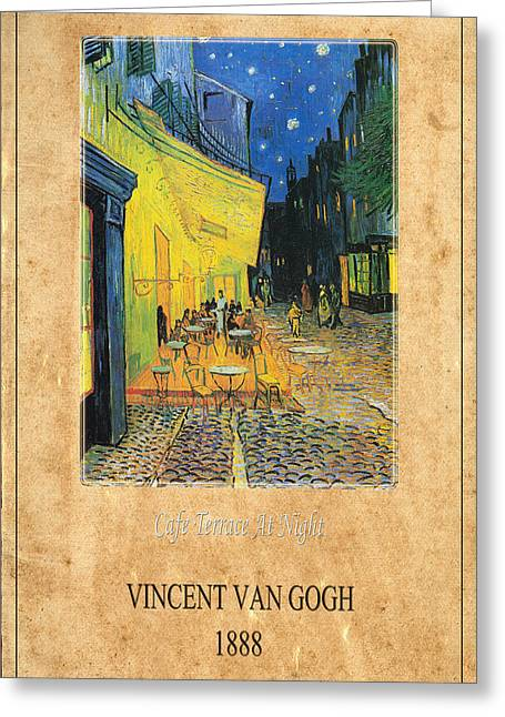 Vincent Van Gogh 3 Greeting Card by Andrew Fare