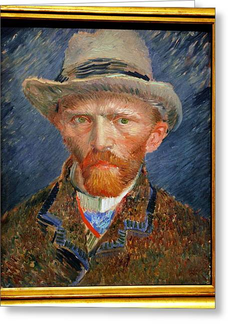 Vincent Van Gogh. Greeting Card by Vincent Van Gogh