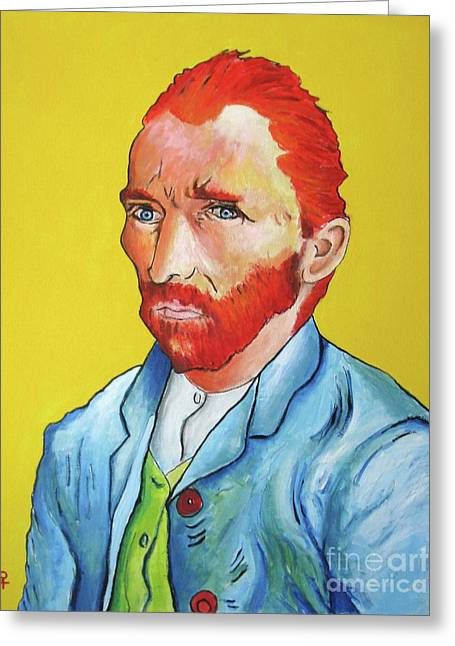 Vincent Van Gogh Greeting Card by Venus