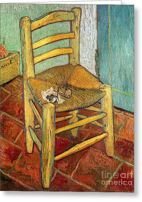 Vincent's Chair 1888 Greeting Card