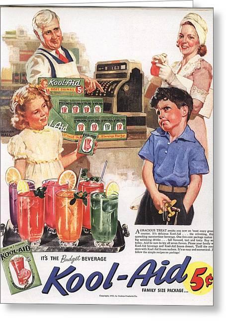 Vintage 1950s Kool-aid Advert Greeting Card