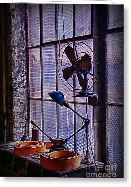 Vintage Air Conditioning Greeting Card by Paul Ward
