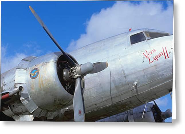 Vintage Aircraft, Burnet, Texas Greeting Card
