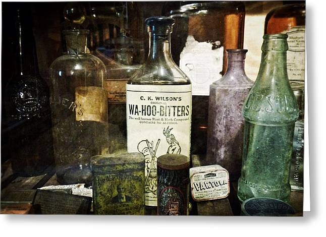 Vintage Apothecary Greeting Card