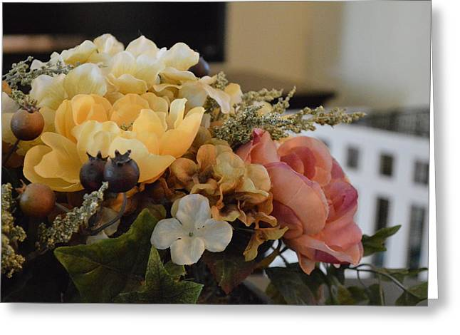Vintage Arrangement Greeting Card