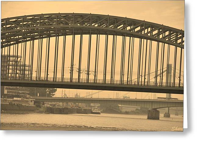 Vintage Bridge Greeting Card
