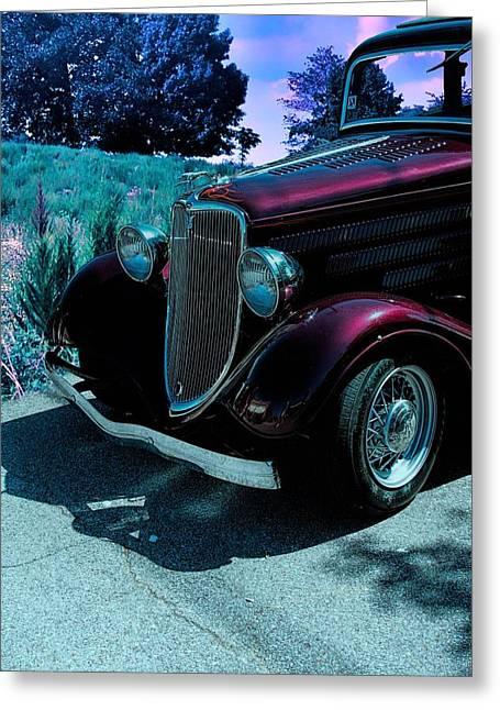 Vintage Ford Car Art II Greeting Card