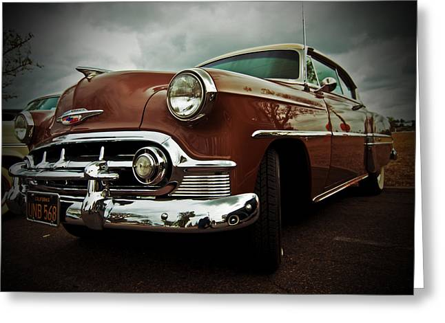 Greeting Card featuring the photograph Vintage Chrysler by Gianfranco Weiss