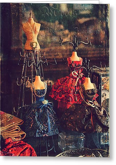Vintage Glamour Greeting Card